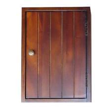 "14"" Hand made wood Key Holder Rack in Rustic Walnut Finish - ORE DKH001"