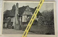Old Postcard, Milton's Cottage, Chalfont, Buckinghamshire