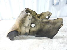 90 Honda PC800 PC 800 Pacific Coast engine cover heat shield inner