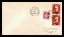 Dr Who 1952 Norway Ostfoldbanen To Usa f78712