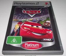 Disney Pixar Cars PS2 (Platinum) PAL *Complete*