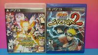 Naruto Shippuden Ultimate Ninja Storm 2 + Revolution - Playstation 3 PS3 Games