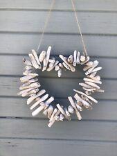 Driftwood Heart, Garden Decor, Beach Themed, Beach Lover Gift, Garden Ornaments.