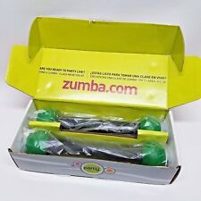 Zumba Fitness Join the Party Set of 2 Body Shaping TONING STICKS, Green,  Unused