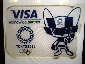 Visa Tokyo 2020 olympic pin