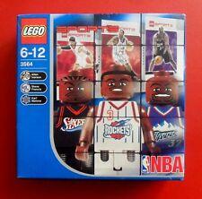 Allen IVERSON LEGO # 3564 BASKET NBA 2003 - BOX NEW & SEALED 3 MINIFIGS