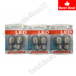 (New) Sylvania LED 2 bulbs Cool White 7506 Pack of 3