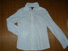 Gestreifte hüftlange H&M Langarm Damenblusen, - tops & -shirts