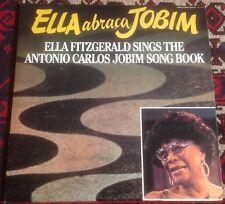 ELLA FITZGERALD ella abracca jobim 1981 US PABLO TODAY STEREO 2LP SET BOSSA NOVA