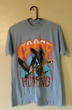 VINTAGE 80's GOOSE HUNTING T-SHIRT CANADA GEESE