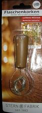 Flaschenkorken mit 8er Micro LED Lichterkette Warmweiß inkl. Batterien SUPER