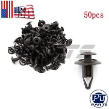 50x Plastic Rivet Fastener Mud Flaps Fender Push clips 8mm NA01-56-145