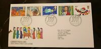 CHRISTMAS STAMPS 1981 FIRST DAY COVER Edinburgh Bureau pristine condition