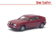 Herpa H0 2067-rot VW Corrado -  rot. B-Ware