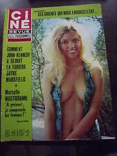 CINE REVUE 1974 N°39 JOHN KENNEDY, JAYE MANSFIELD, SYLVIE CLAUDE