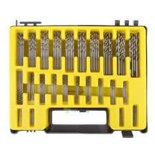 150PCS 0.4mm-3.2mm Twist Drill Bit Kit Set HSS Micro Number Fractional Precision