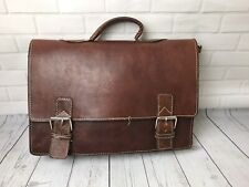Mens Vintage Leather Laptop Macbook Messenger Bags/Leather Office File Bags