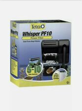 Tetra Whisper PF10 Power Filter, Quiet Three-Stage Filter For 5-10 Gal Aquariums