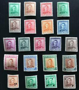New Zealand Stamp 1938 KGVI Full Set  - UHM