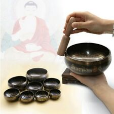 Buddhism Tibetan Hammered Meditation Hammered Chakra Yoga Copper Singing Bowl