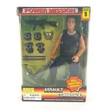 "Power Mission Assault Commando City Bat 12"" Figure New Never Opened"