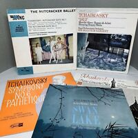 "5x Tchaikovsky Records Bundle of Classical 12"" Vinyl LPs M085"