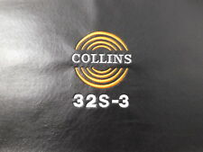 Collins 32S-3 Signature Series Ham Radio Amateur Radio Dust Cover