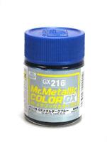 MR HOBBY Color Gunze LACQUER GX216 Metal Dark Blue MODEL KIT PAINT 18ml