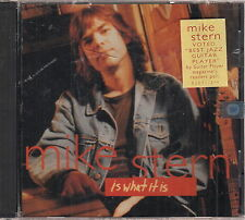 mike stern is what it is cd sealed