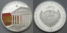 2009 Palau Large Proof color $1 World Wonders-Artemis Temple