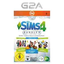 Die Sims 4 Bundle Key Outdoor-Leben Coole Küchen Grusel Accessoires Origin PC EU