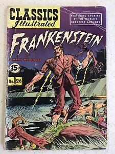 FRANKENSTEIN 1945 Classics Illustrated #26