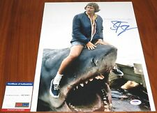 Steven Spielberg Signed 11x14 Indiana Jones Private Ryan E.T. Jaws PSA/DNA