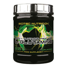 Scitec Nutrition L-glutamine 300g neutral 100% L-Glutamina aminoácido 6000mg