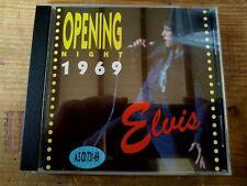RARE ELVIS PRESLEY CD - OPENING NIGHT 1969 - FORT BAXTER