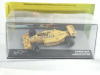 1/43 Lotus Honda 99T   Monaco Grand Prix  1987  Ayrton Senna  #Altaya Ixo