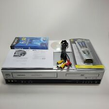 Daewoo DV6T844B DVD Player VCR Recorder Combo With Remote, Manual, Cable - MINT