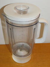 vintage RECIPIENT en plastique MIXEUR MIXER Blender CONTAINER bol