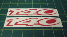 Vauxhall Vectra SRI Astra Corsa Nova 140 replacement side decals stickers