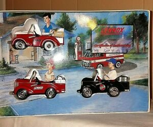 Lennox Petite Pedal Cars Set of 3 New Collectible Crown Premiums 1/12 Scale