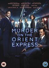Murder on The Orient Express 2017 Johnny Depp Kenneth UK R2 DVD