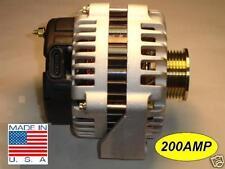 200 AMP Cadillac Alternator Escalade EXT 2002 5.3L 6.0L NEW HIGH OUTPUT