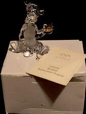 Lenox Disney Winnie The Pooh Crystal TIgger Figurine Rare