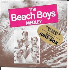 """45 TOURS / 7"""" JUKE BOX--THE BEACH BOYS--THE BEACH BOYS MEDLEY--1981"""