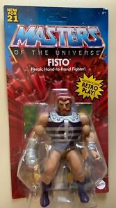 Masters Of The Universe Origins Wave #5 action figure FISTO  IN STOCK