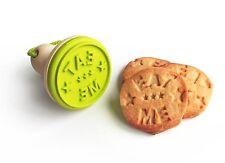 Suck UK cookie en bois cachet biscuit me manger message stamper Cutter cadeau de Noël cuire