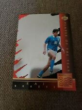 1994 Upper Deck World Cup Rai Brazil Player of the Year Card WC1