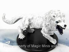 Reign of Winter ~ WINTER WOLF #25 Pathfinder Battles Large miniature white snow