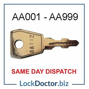 BISLEY Filing Cabinet/ Desk Keys AA001-AA999 ***FREE 48 HOUR TRACKED DELIVERY***