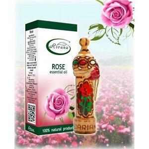 Bulgarian Rose - Rosa damascene Premium 100% Pure Organic Essential Oil 1ml
